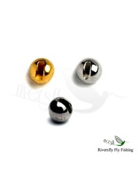Tungsten Slotted Beads 10 Units