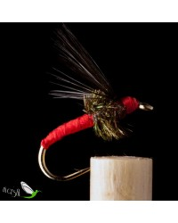 Peacock Red Floss Wet Fly