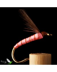 Pink Floss Wet Fly