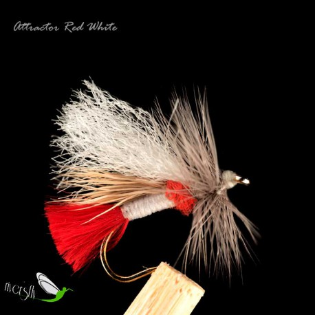 Attractor Red White