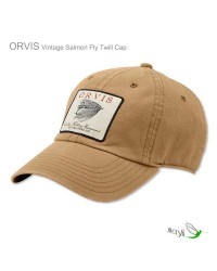 Vintage Salmon Fly Twill Cap by Orvis