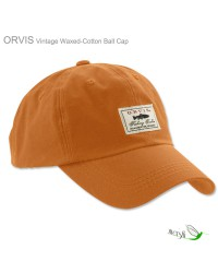 Vintage Waxed Ball Cap by Orvis