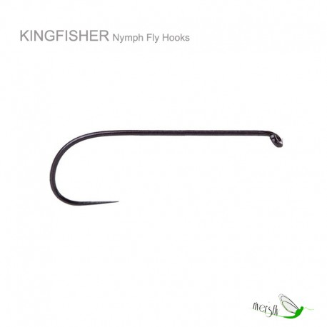 Nymph Barbless Competition Hook by Kingfisher