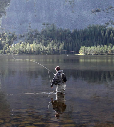Experience Fly Line Guideline