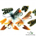Natural Feather Caddis Wings