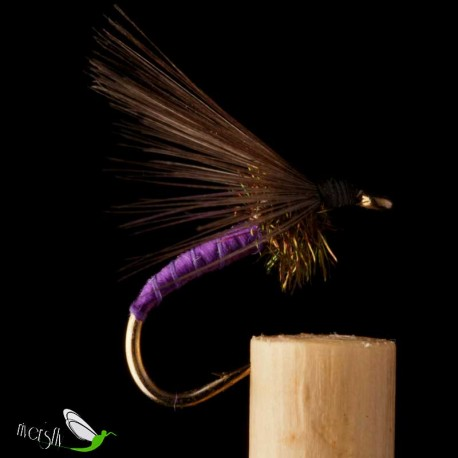 Peacock Purple Floss Wet Fly