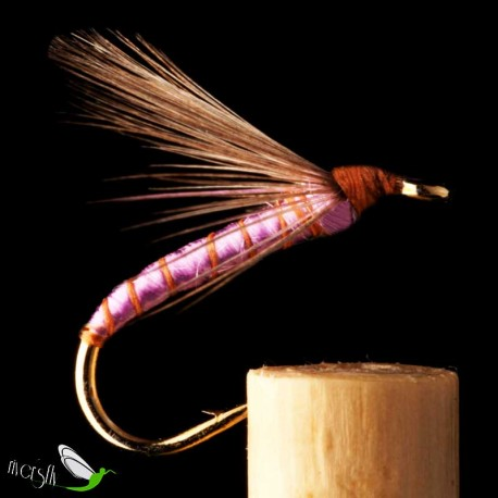 Indian Purple Floss Wet Fly