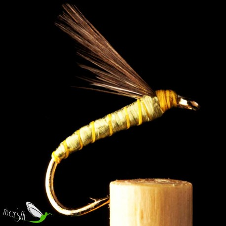 Indio Olive Green Floss Wet Fly