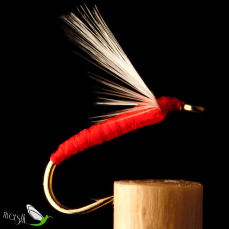 Palometa Red Floss Wet Fly