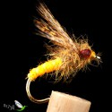 Gold Wool Wet Fly