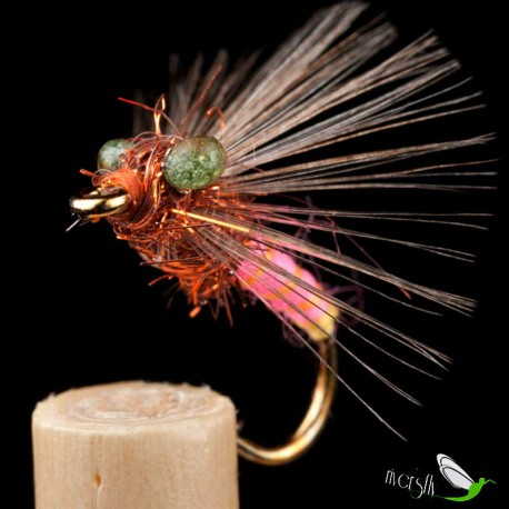 Pink Wool Wet Fly