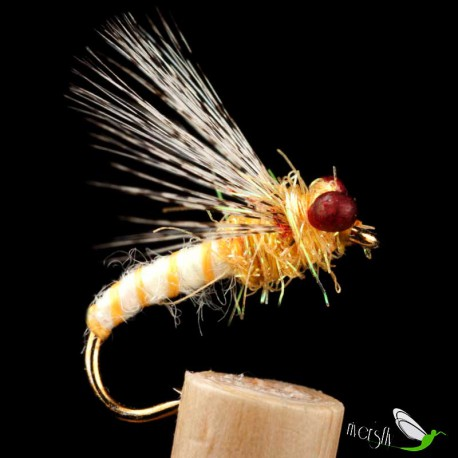 Yellow Wool Wet Fly