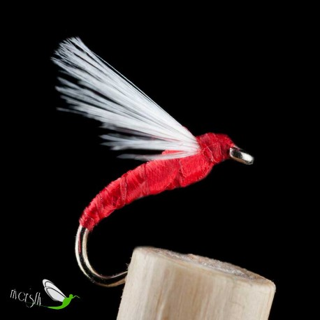 Palometa Red Floss Aphid Wet Fly