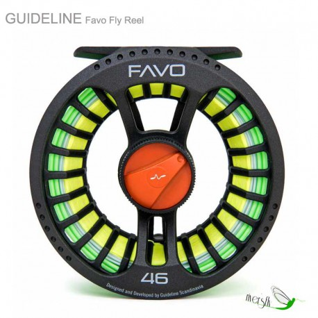 Favo Fly Reel by Guideline