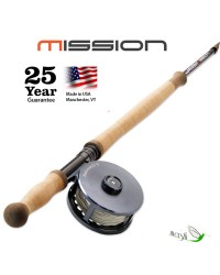 Orvis Mission Fly Rod (seis piezas)