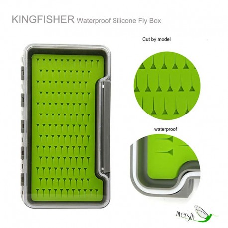 Waterproof Silicone Fly Box