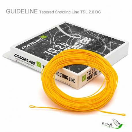 Tapered Shooting Line TSL 2.0 DC by Guideline