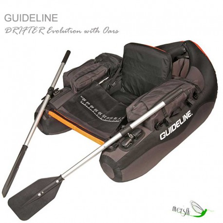 Belly Boat Drifter Evolution by Guideline
