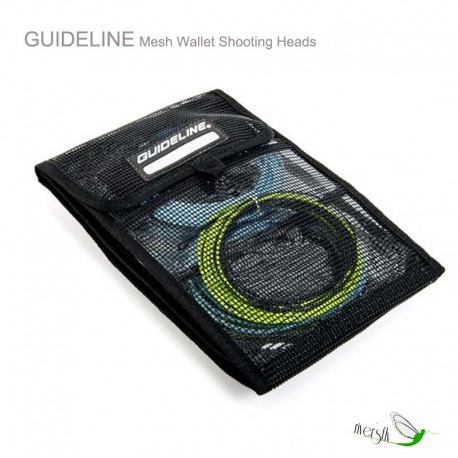 Mesh Wallet Shooting Heads by Guideline