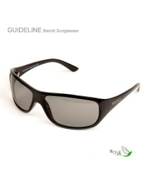 Bandit Grey Sunglasses by Guideline