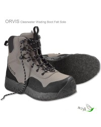 Chaussures wading Orvis Clearwater feutre