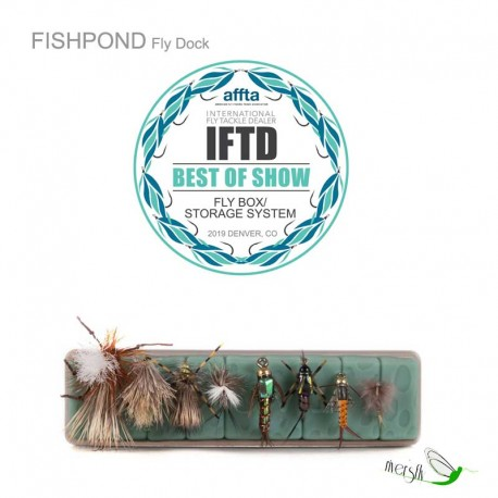 Parche para moscas Fly dock by Fishpond