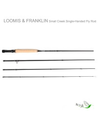 IM12 Small Creek Fly Rods by Loomis & Franklin