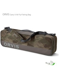 Orvis Carry It All fly-fishing bag.