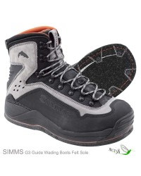 Simms G3 Guide Wading Boots Felt Sole