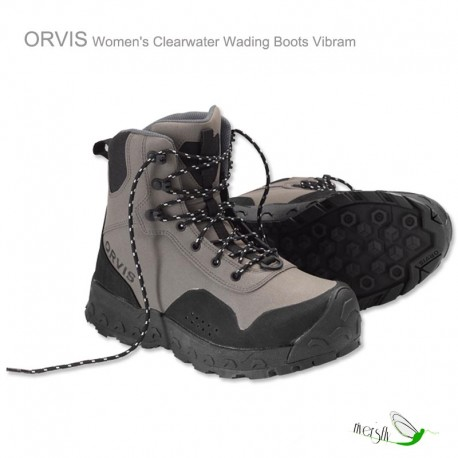 Chaussures de wading Orvis Clearwater Vibram