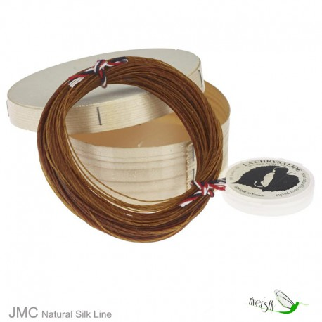 Natural Silk Fly Fishing Line SP - L by JMC